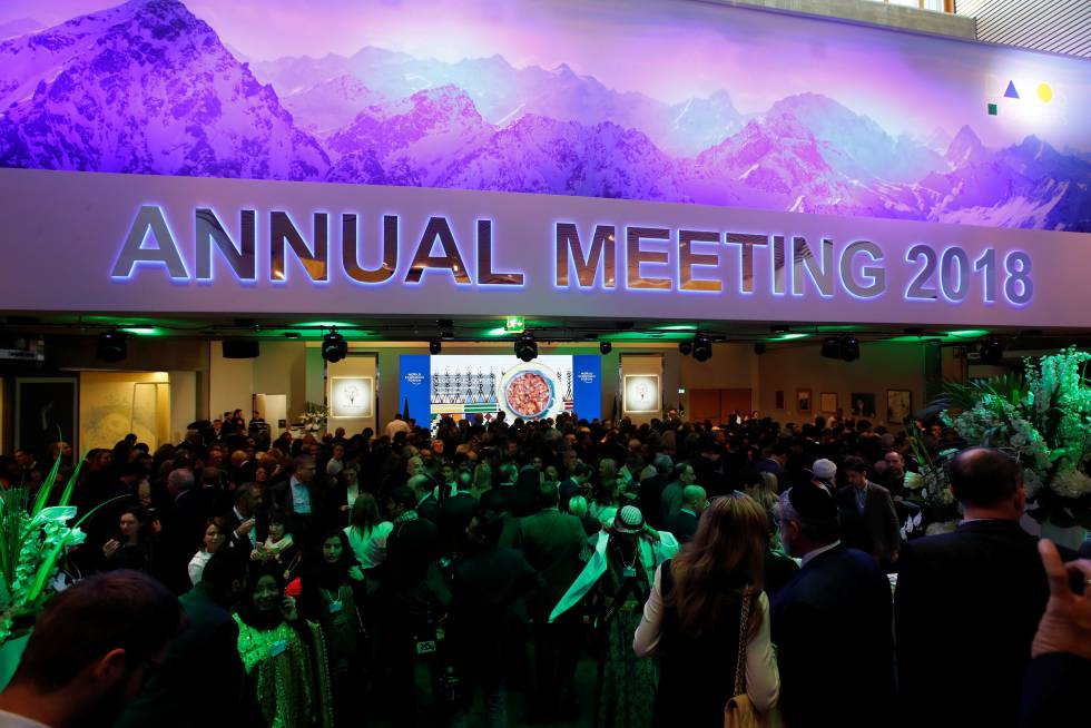 1e47337172c Assim é uma festa privada para milionários em Davos.