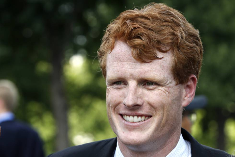 Joe Kennedy, congresista de Massachusetts, nieto de Bob Kennedy.