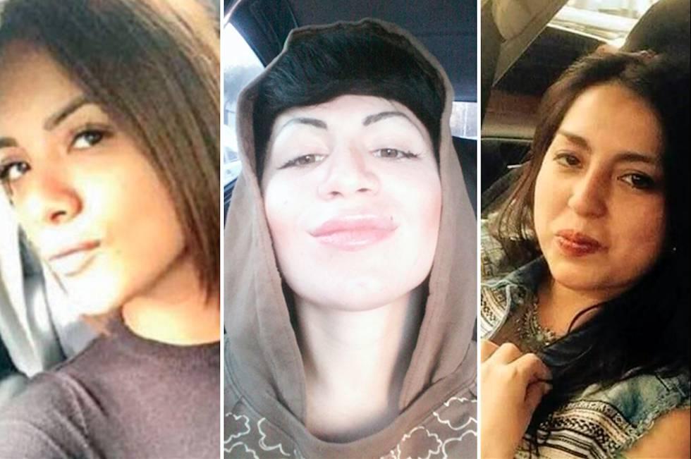 Génesis, Karen y Katya, tres de las cuatro jóvenes asesinadas.