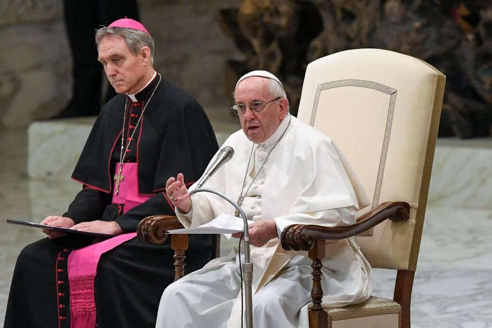 El papa Francisco preside una audiencia este miércoles en el Vaticano. fdda4ba46e3