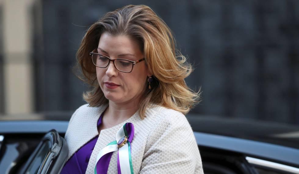 La ministra de Cooperación de Reino Unido, Penny Mordaunt, el pasado 6 de febrero en Londres.