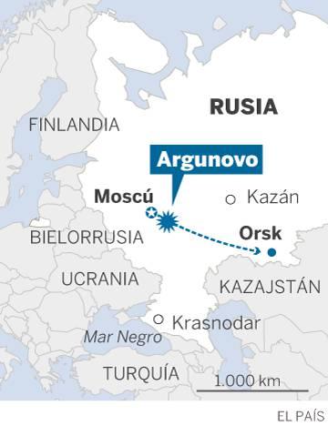 Un avión ruso se estrella cerca de Moscú y deja 71 muertos