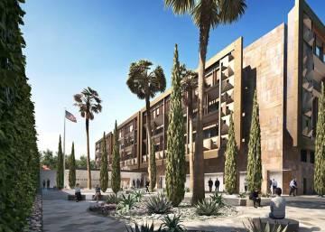 Imagen de la nueva sede diplomática en México.