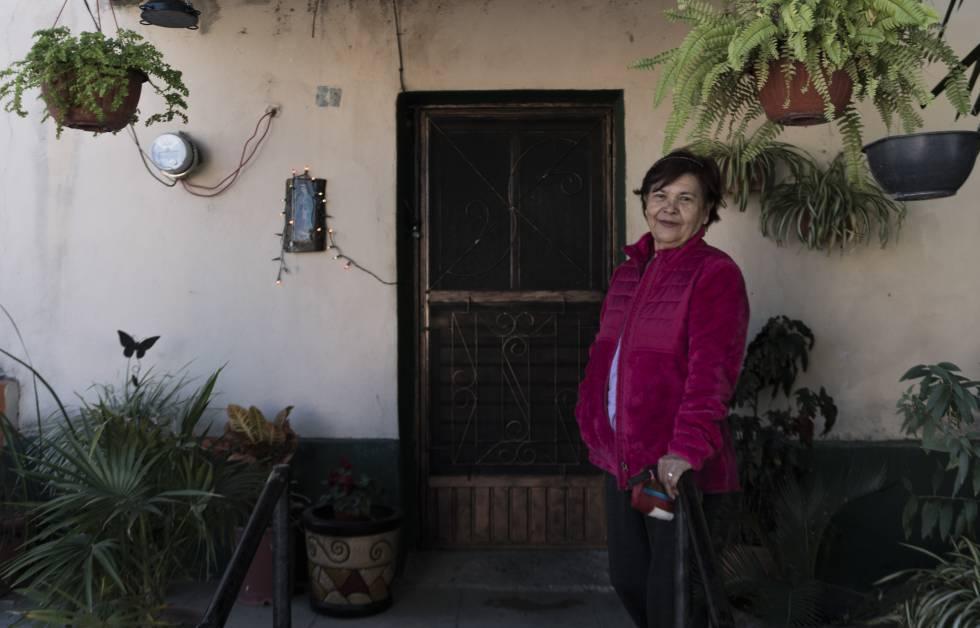 Elsa Martínez, vecina de Huépac.