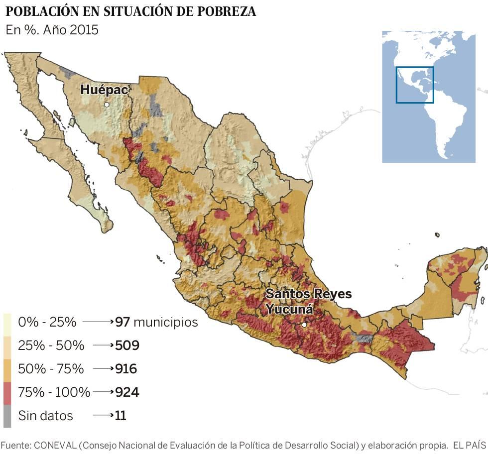 Viaje a los dos extremos de México