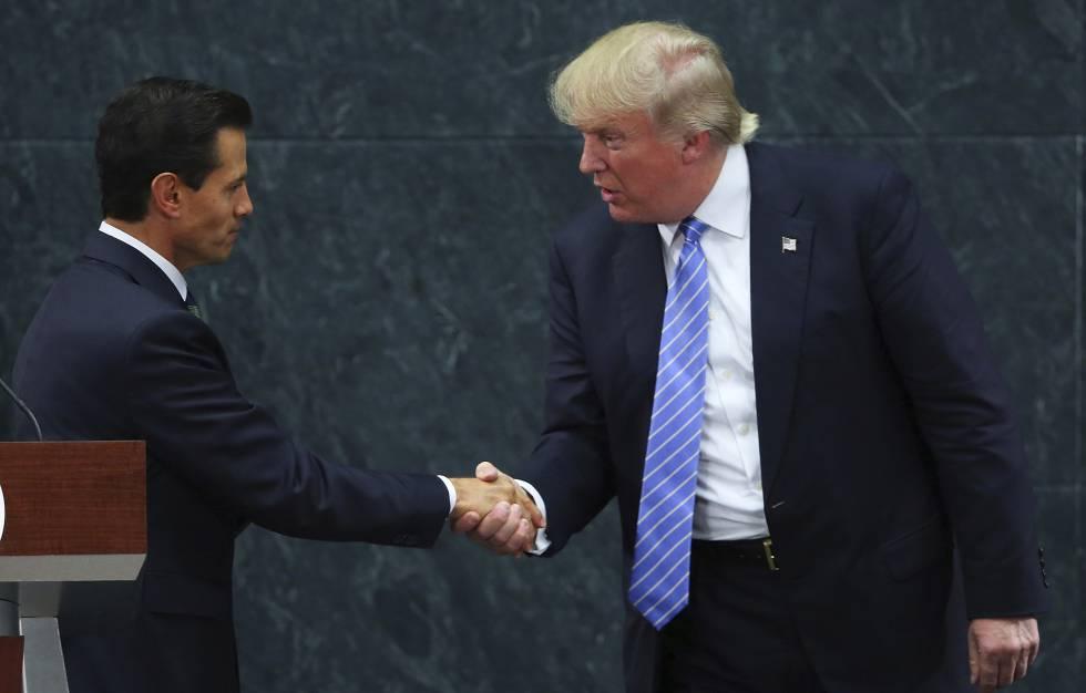 Reunion entre Trump y Peña Nieto en agosto de 2016