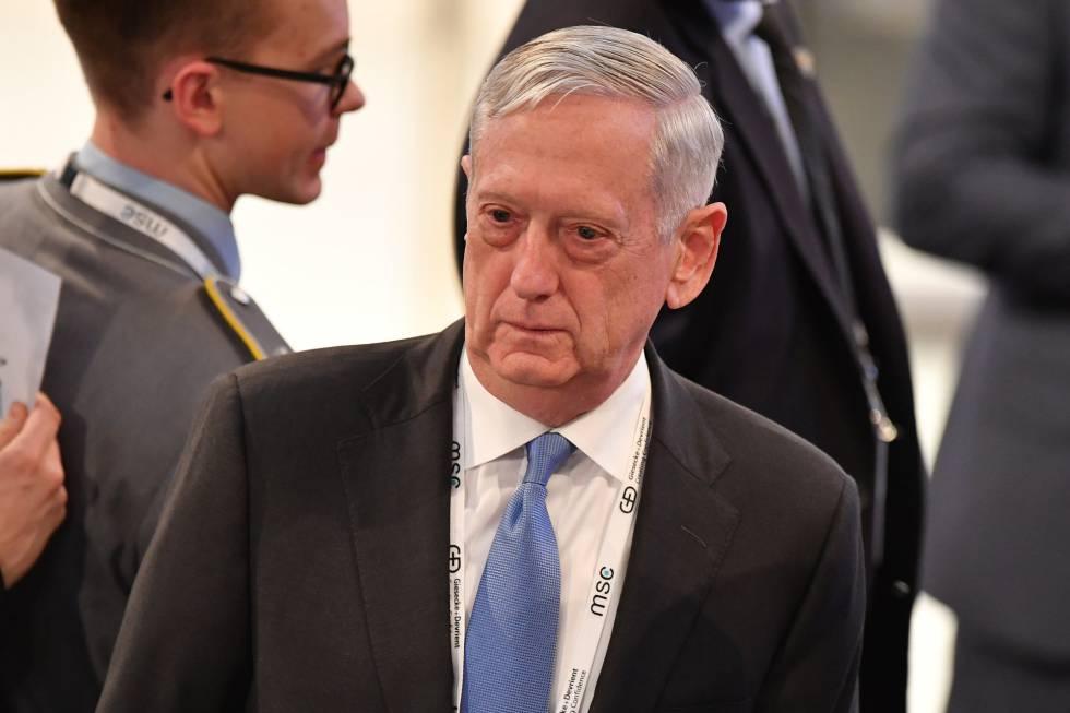 El jefe del Pentágono, Jim Mattis, este viernes en Alemania