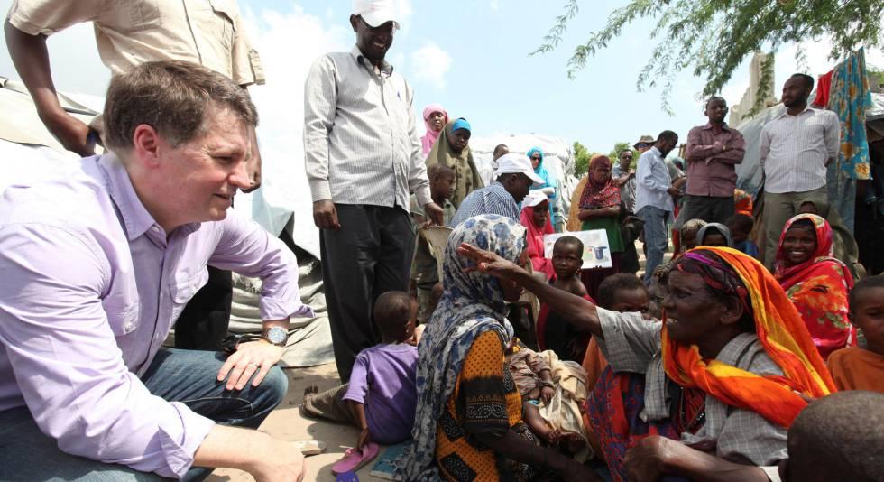 Justin Forsyth, ejecutivo de Unicef.