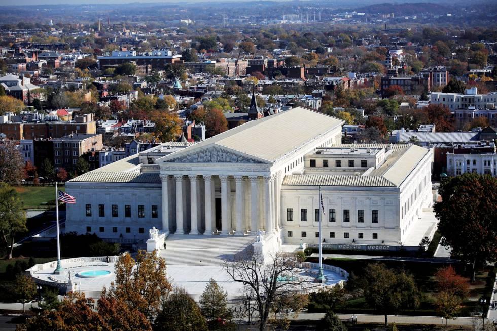 La sede del Tribunal Supremo, en Washington