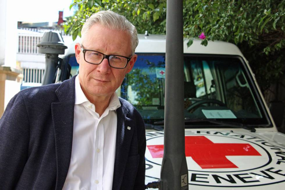 Christoph Harnisch, delegado del Comité Internacional de Cruz Roja en Colombia.