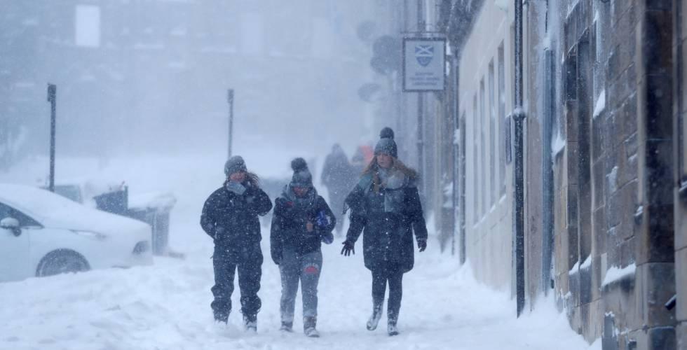 más frío en europa que en el Ártico internacional el paÍs