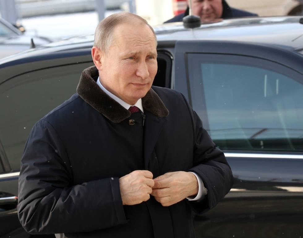 El presidente ruso, Vladimir Putin, este viernes 2 de marzo.