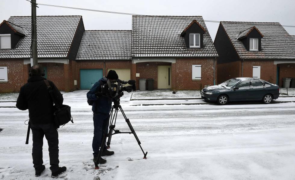 La casa del violador en serie, Dino Scala, al norte de Francia el pasado 28 de febrero de 2018.