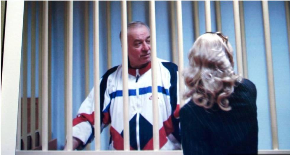 Imagen de una fotografía de Sergei Skripal de 2006 publicada por la BBC.