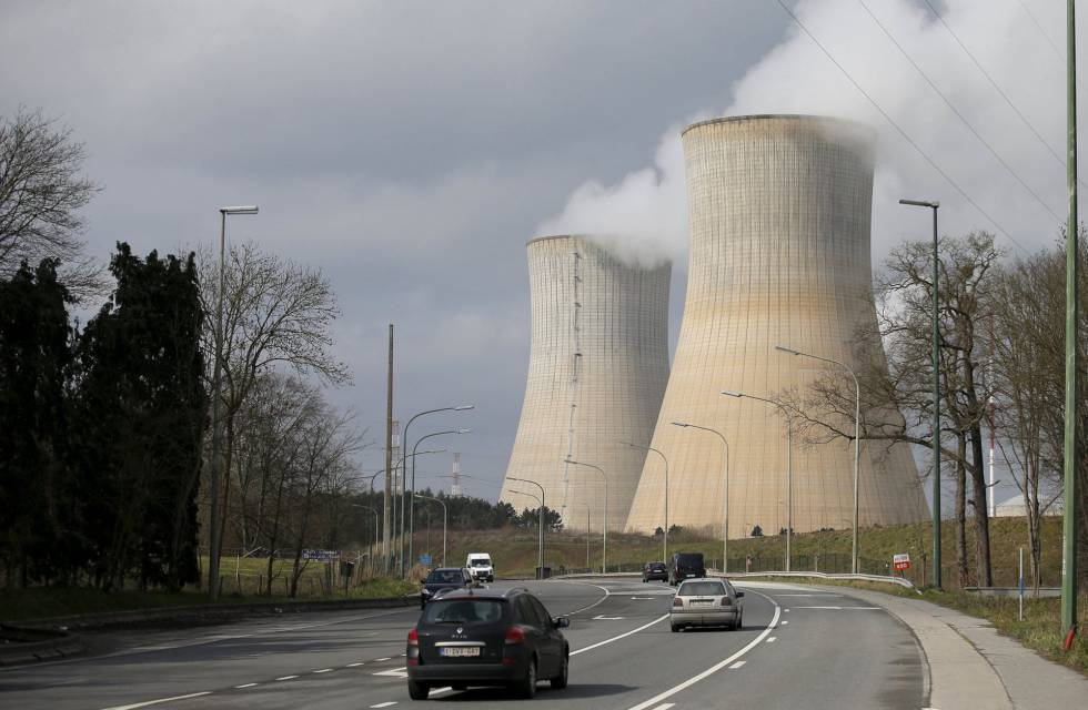 La central nuclear de Tihange, en Bélgica.