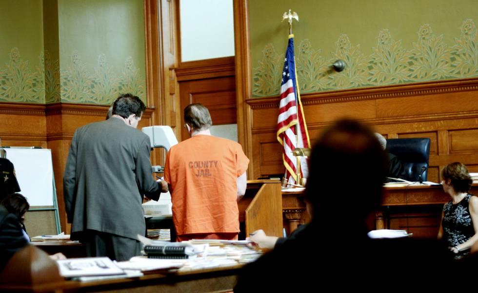 Vista de un juicio en Estados Unidos.