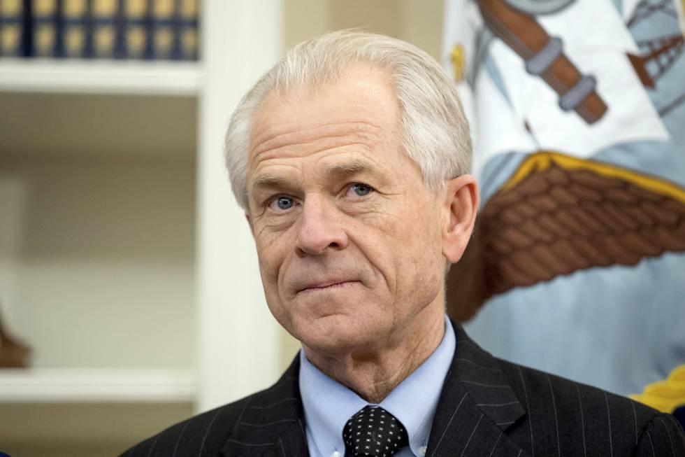 El consejero de comercio de la Casa Blanca, Peter Navarro.
