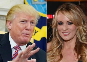 Trump logró una orden judicial para callar a la actriz porno que le denuncia