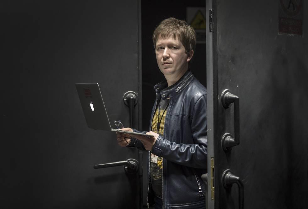 Andrei Soldatov, periodista y activista digital ruso, en el Internet Freedom Festival, en Valencia.