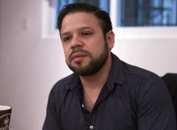 Jesús Romero Colín durante la entrevista el lunes en Ciudad de México