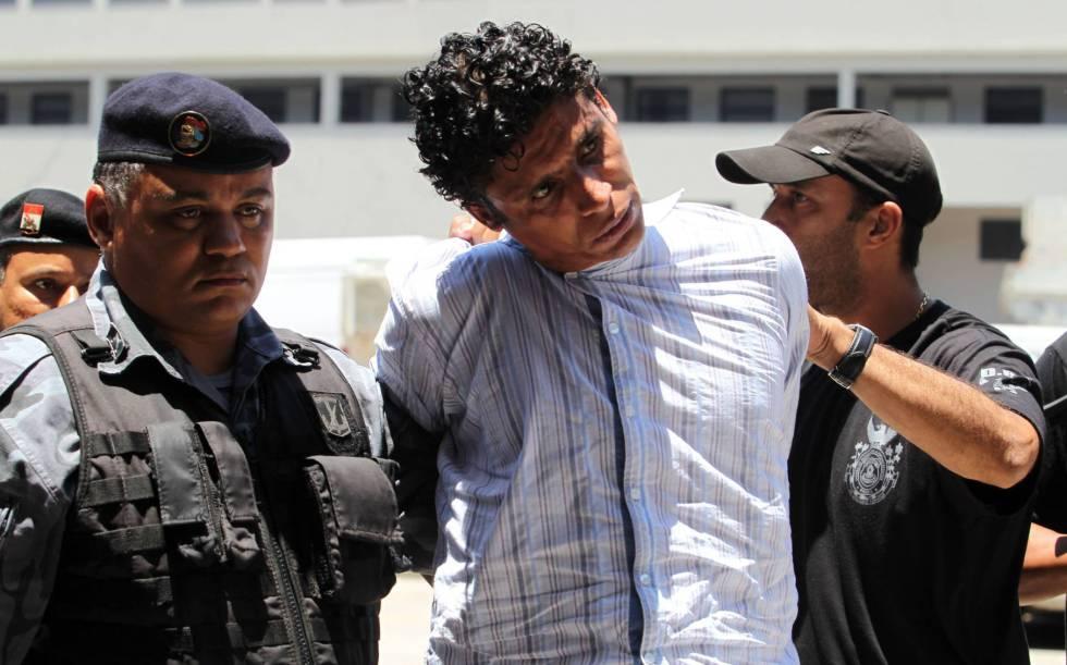 Nem da Rocinha en su detención.