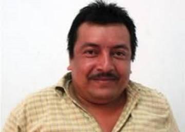 El periodista Leobardo Vázquez.