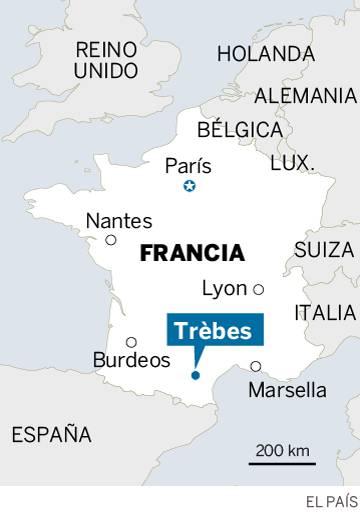 Un hombre armado se atrinchera en un supermercado de Francia tras disparar a varios policías