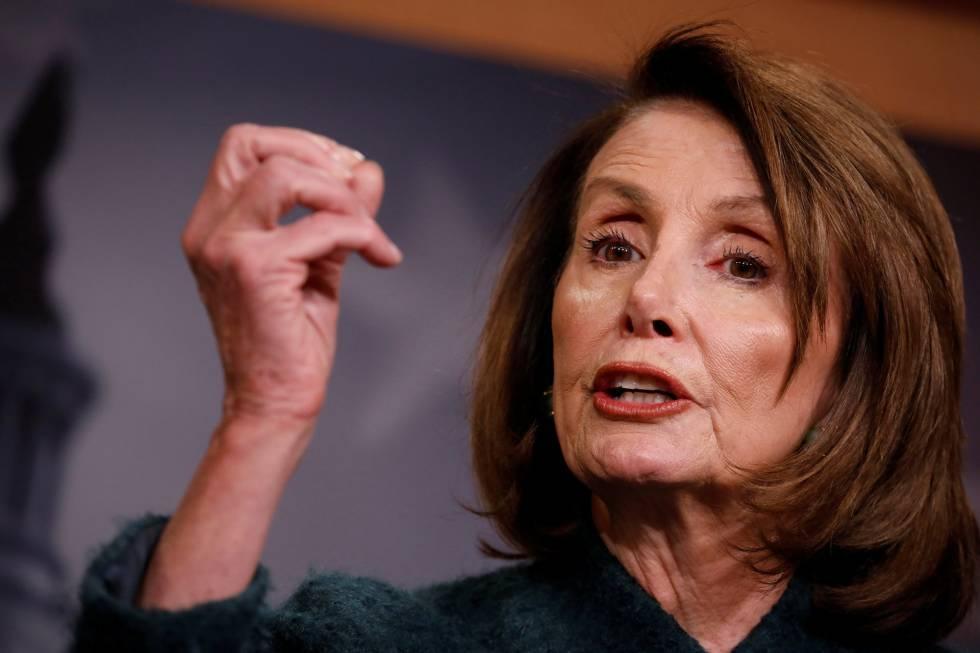 Nancy Pelosi, el pasado jueves en el Capitolio
