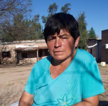 Silvia Achaval, madre de Camila.