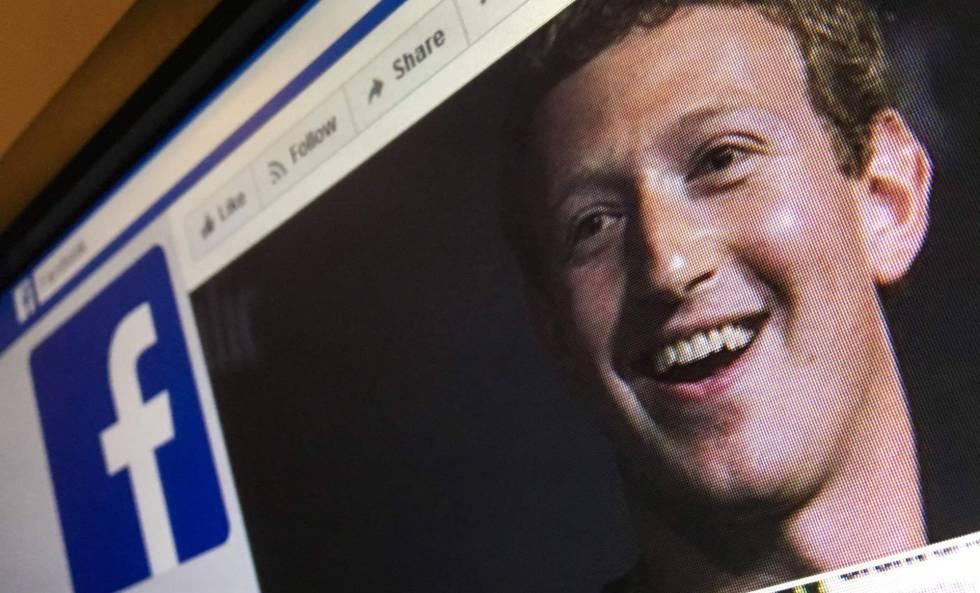 Imagen de Mark Zuckerberg en la versión rusa de Facebook.