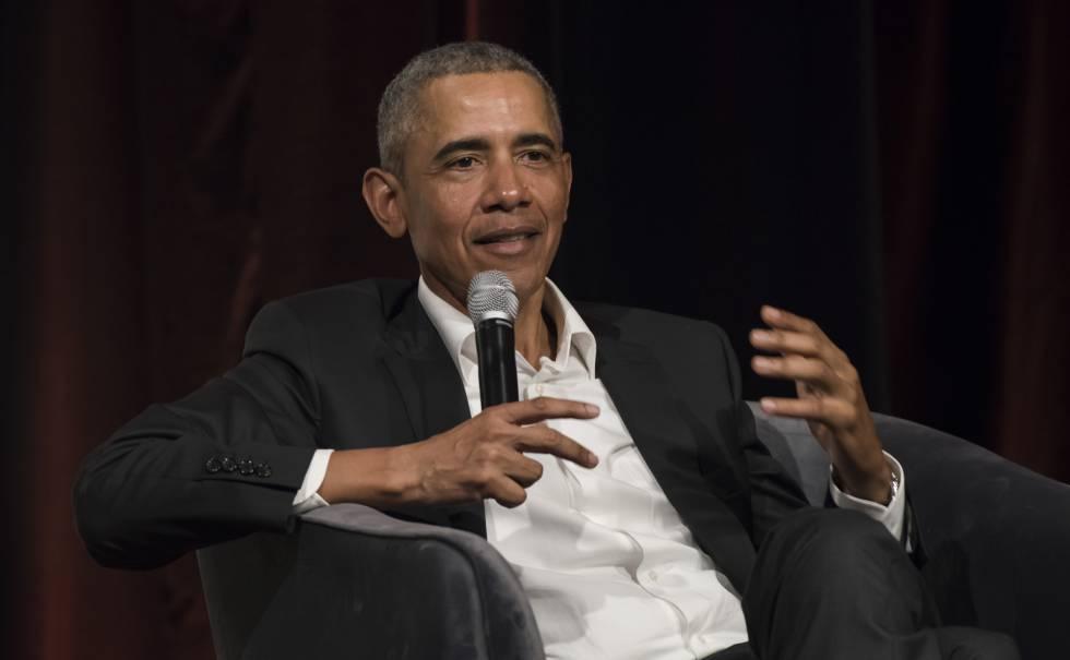 El expresidente Barack Obama, en una conferencia el pasado 23 de marzo en Sídney (Australia).