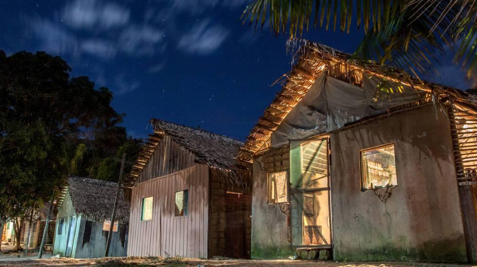 """La """"Vilinha"""", en la comunidad Montanha e Mangabal, es donde vivía Ageu Lobo hasta hace pocos días, cuando tuvo que huir para salvar la vida."""