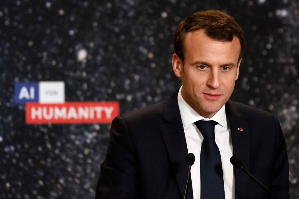 Macron quiere poner a Francia a la cabeza de la inteligencia ...