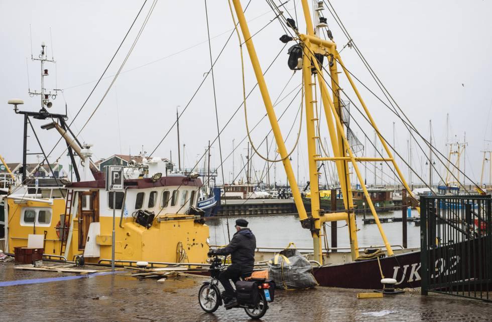 El pueblo pesquero de Urk, en Holanda, donde el tráfico de droga ha aumentado.
