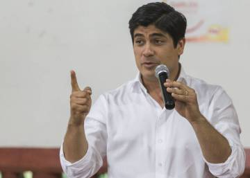 El oficialismo en Costa Rica elige a un joven de 37 años como candidato presidencial
