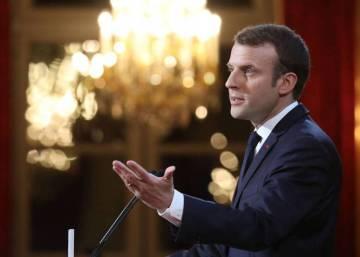 Macron anuncia una ley contra las noticias falsas