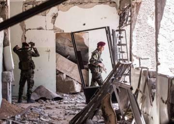 Comienza la evacuación de la última milicia insurrecta de Guta Oriental