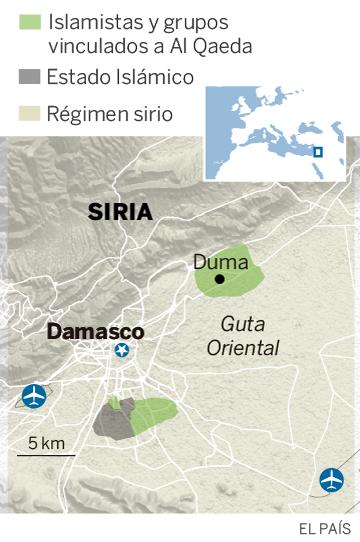 Relato de cinco años de asedio en Guta a través de la familia Said