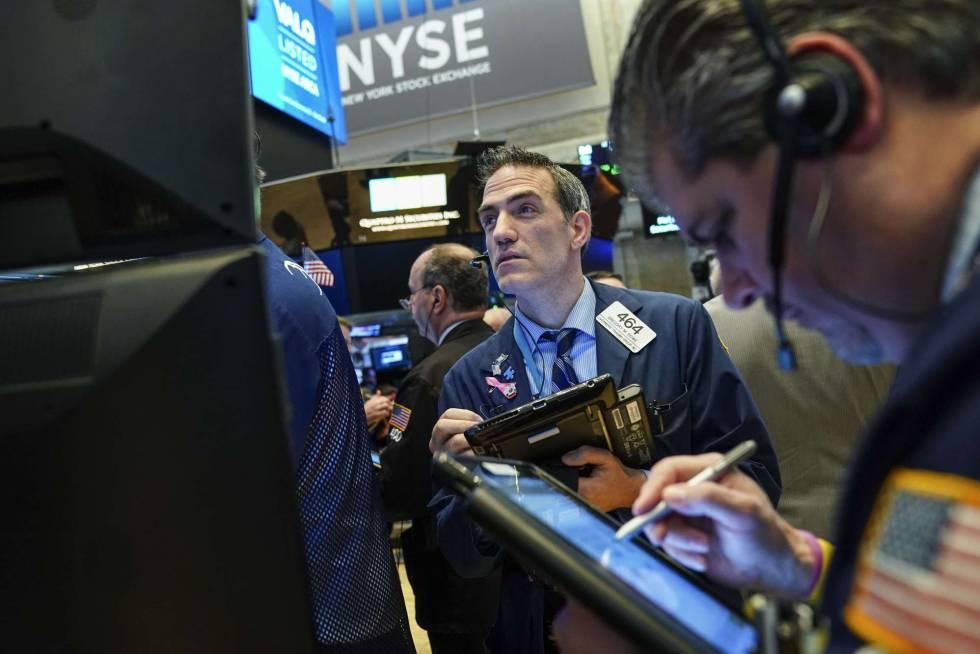 La Bolsa de Nueva York, este miércoles.