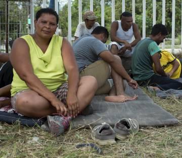 María Colindres, diputada migrante hondureña