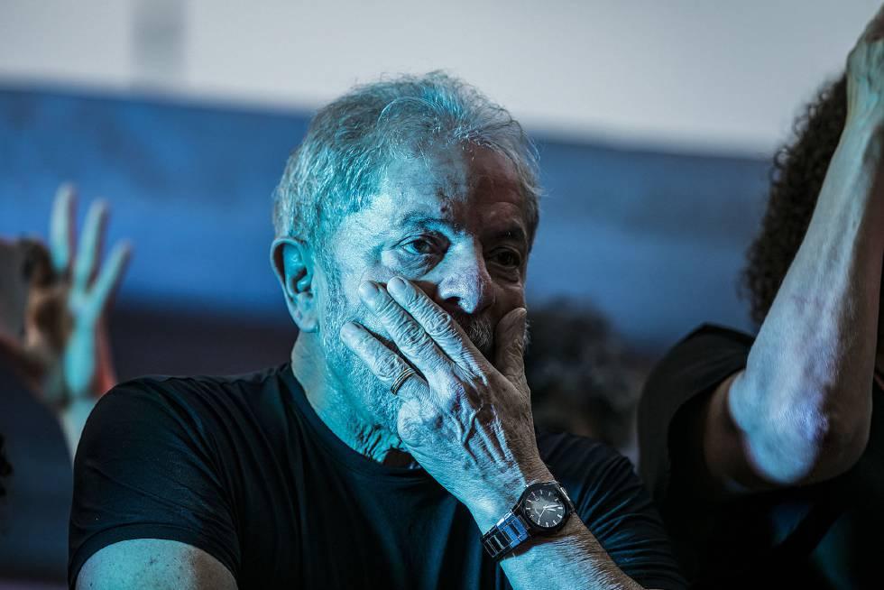El expresidente Lula el pasado enero