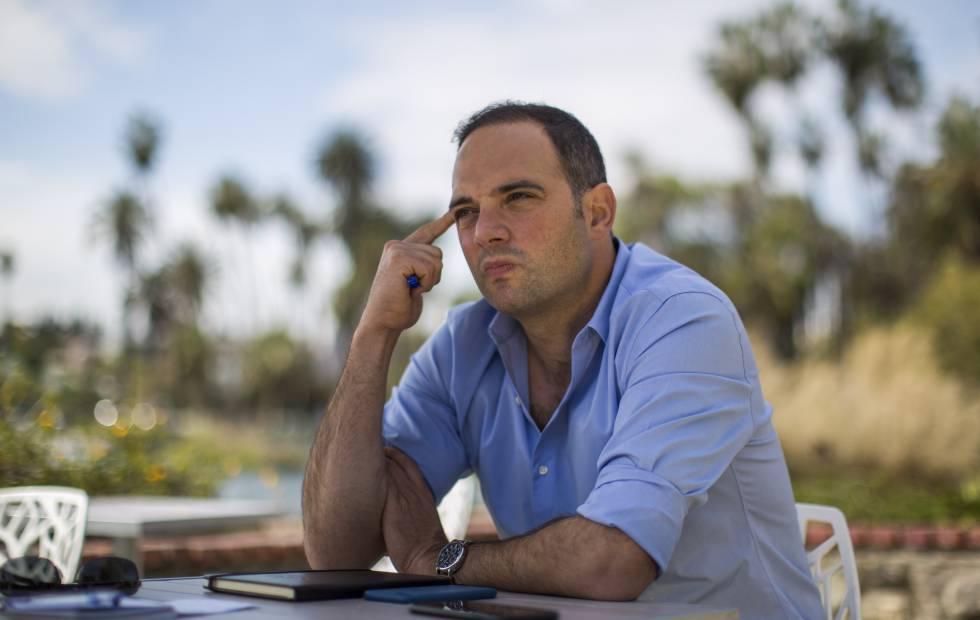 Krauze, durante la conversación.