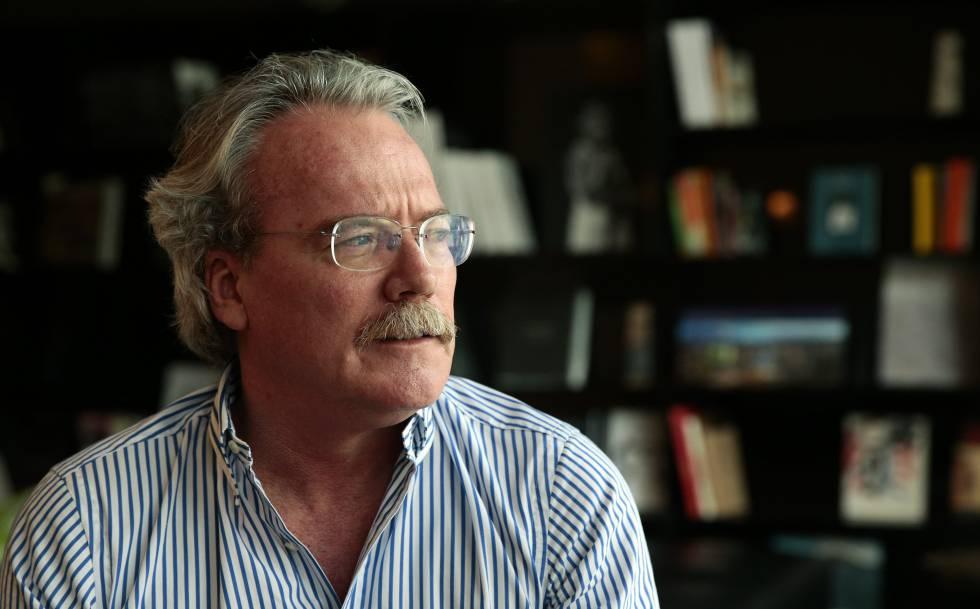 El escritor venezolano Alberto Barrera Tyzka, en 2015