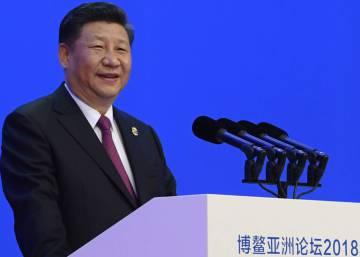 """Xi Jinping declara una """"era de apertura"""" frente a la disputa comercial con EE UU"""