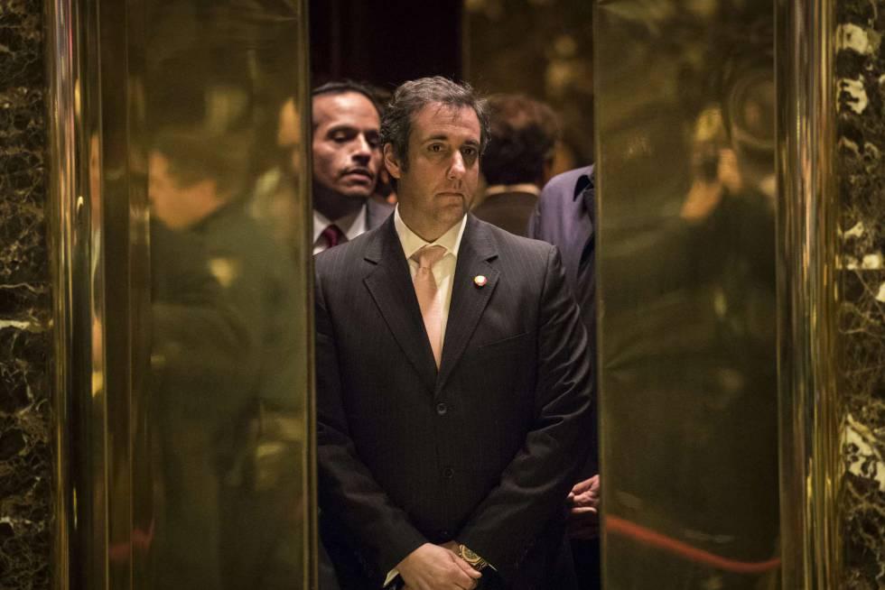 Michael Cohen, en la Torre Trump en diciembre de 2016.