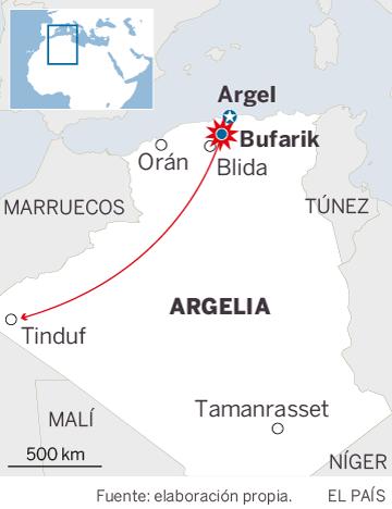 Mueren 257 pasajeros en un avión militar estrellado cerca de Argel