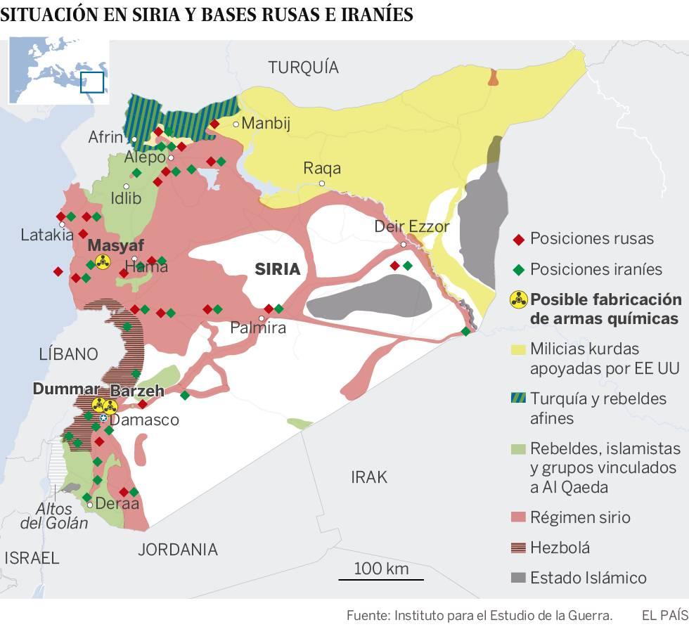 Siria asegura que el ataque no ha afectado a su capacidad militar