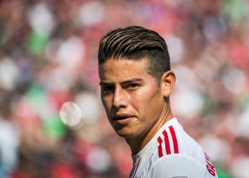 Gol de James: la revancha de Colombia contra el Real Madrid