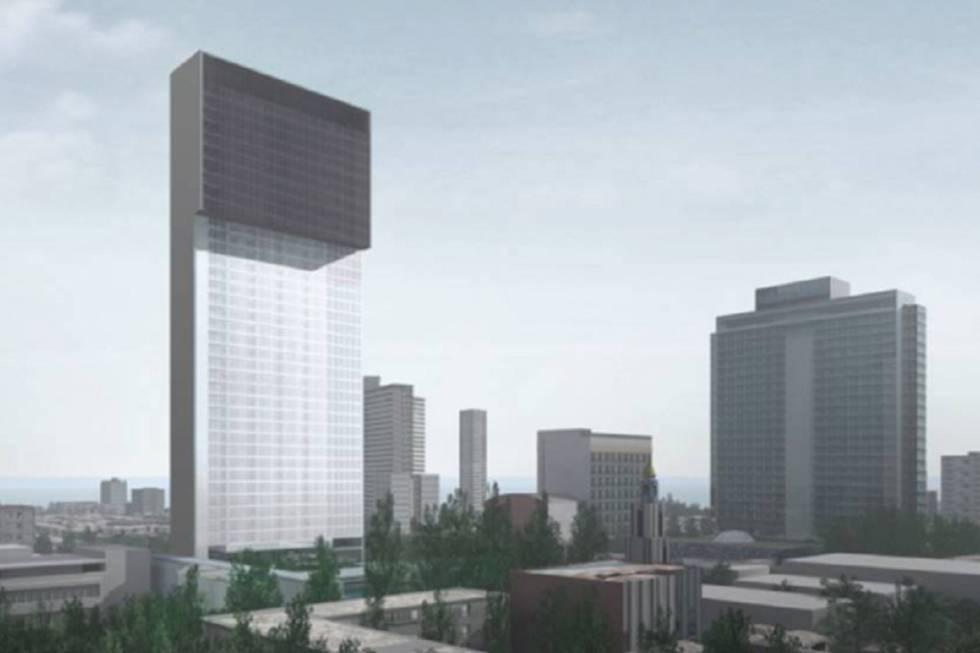 Un nuevo hotel cinco estrellas ser el edificio m s alto de la habana zona de noticias zona - Pisos paseo de la habana ...
