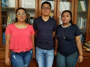 Valeska Valle, Víctor Cuadras y Yorleney Jarquín, universitarios nicaragüenses partícipes en las protestas